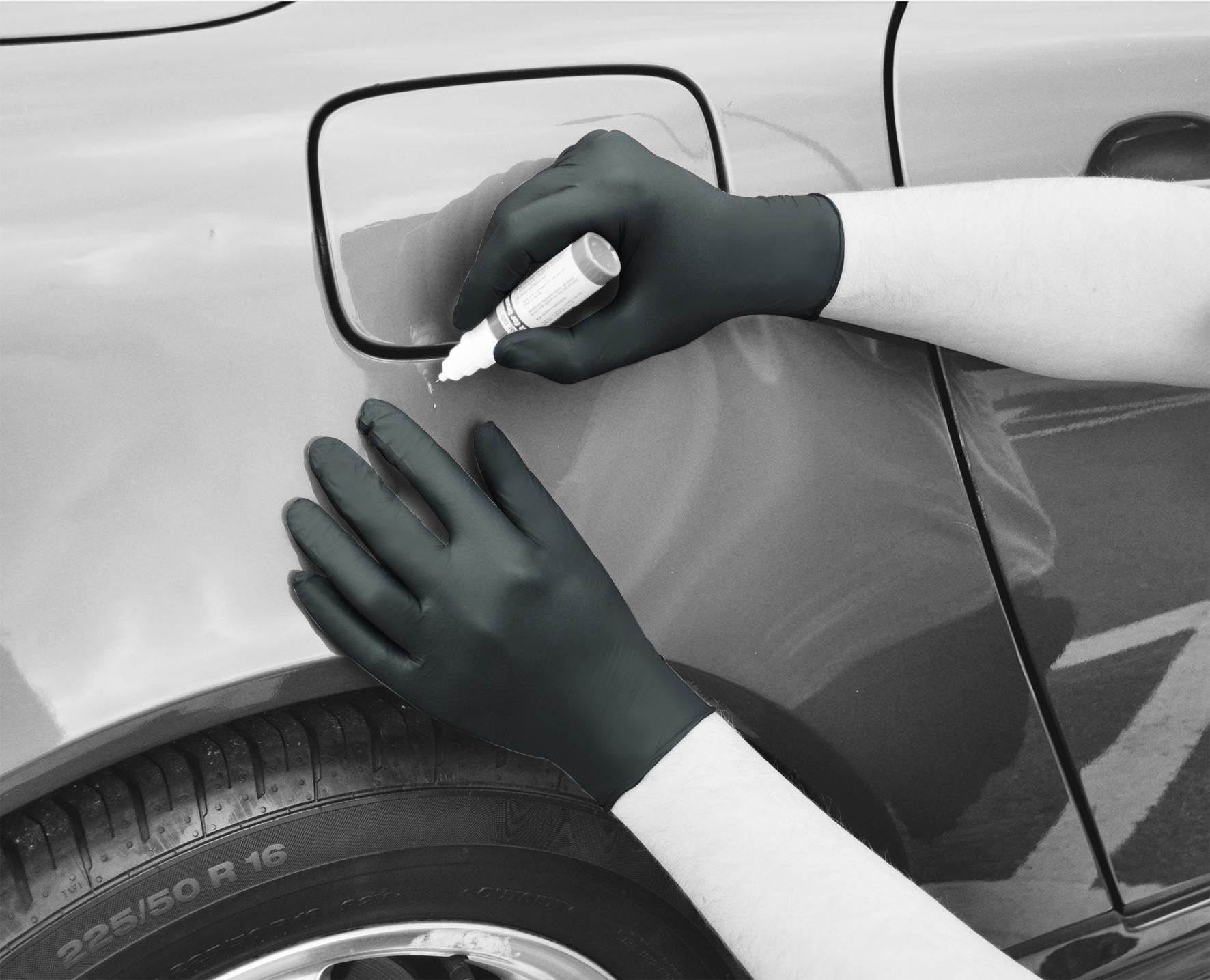Premium Black Nitrile Gloves