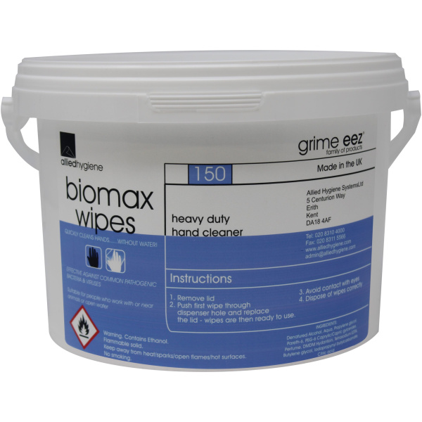 GrimeEez Biomax Hand Wipes