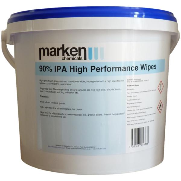 High Performance 90% IPA Wipes
