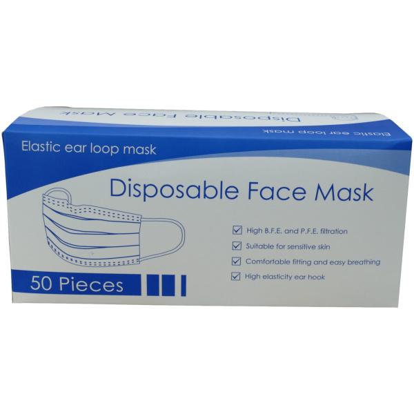 3 ply mask box