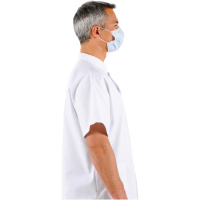 Type IIR Surgical Mask on face