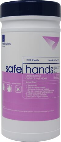 SafeHands Disinfecting Hand Wipes